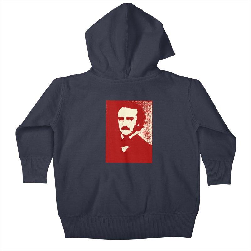 Poe is Poetry Kids Baby Zip-Up Hoody by navjinderism's Artist Shop