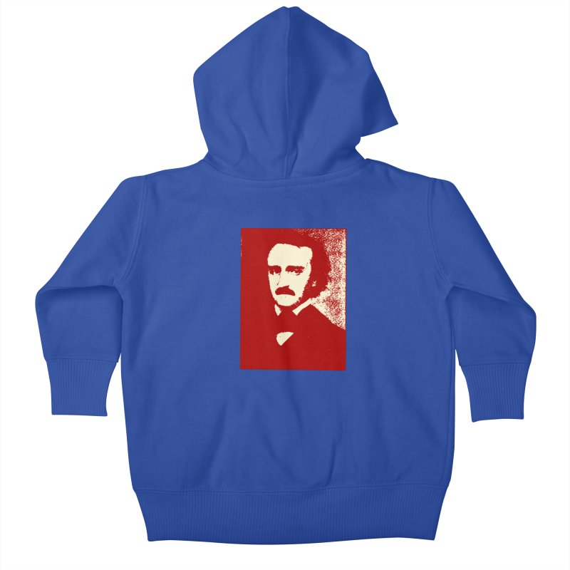 Poe is Poetry Kids Baby Zip-Up Hoody by navjinderism's Artist Shop