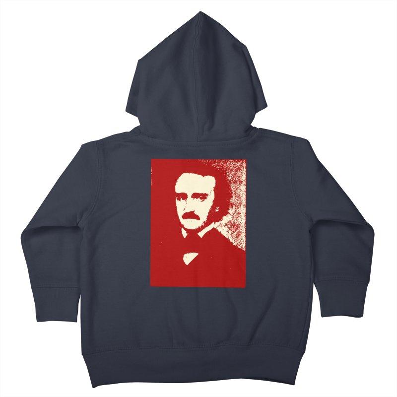 Poe is Poetry Kids Toddler Zip-Up Hoody by navjinderism's Artist Shop