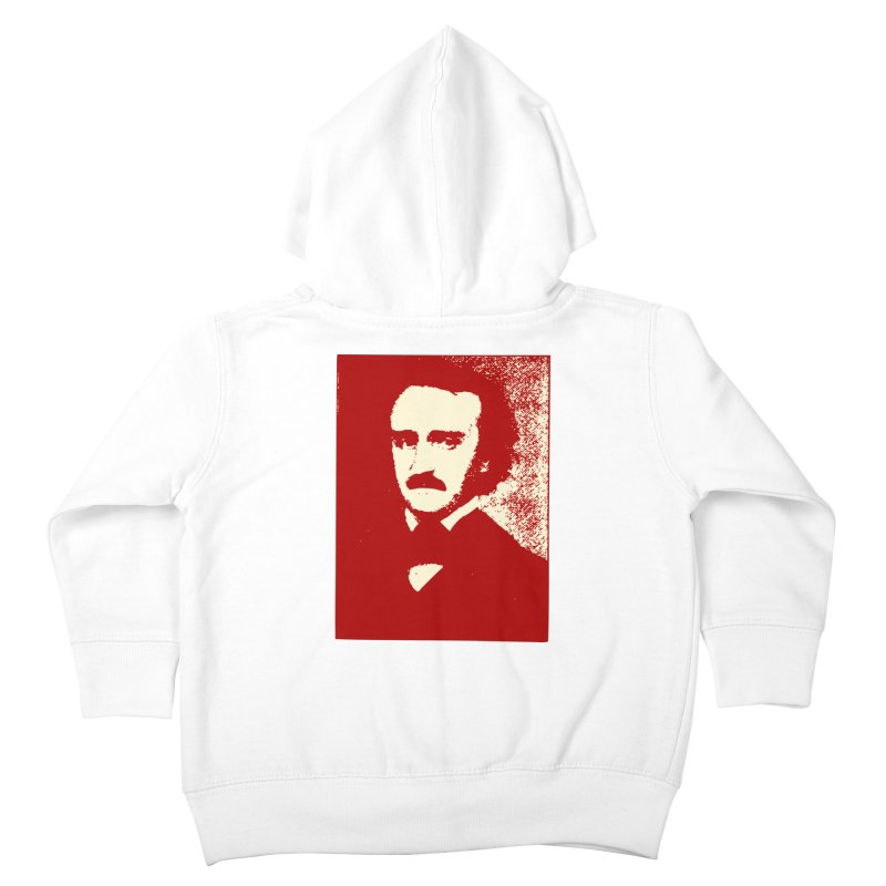 Poe is Poetry Kids Toddler Zip-Up Hoody by navjinderism's Artist Shop