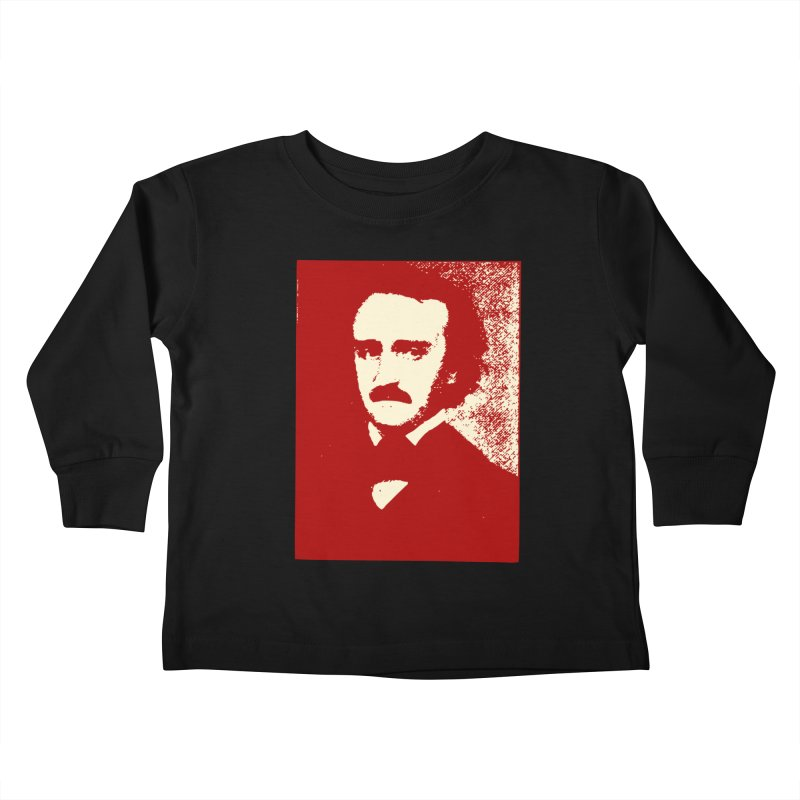 Poe is Poetry Kids Toddler Longsleeve T-Shirt by navjinderism's Artist Shop