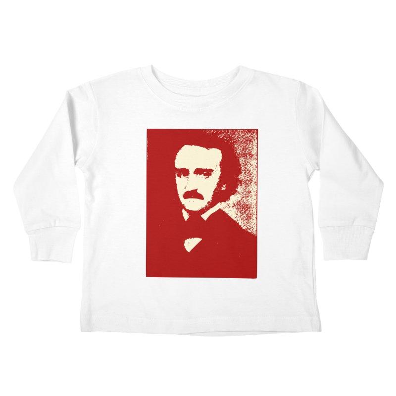 Poe is Poetry Kids Toddler Longsleeve T-Shirt by navjinderism's Artist Shop