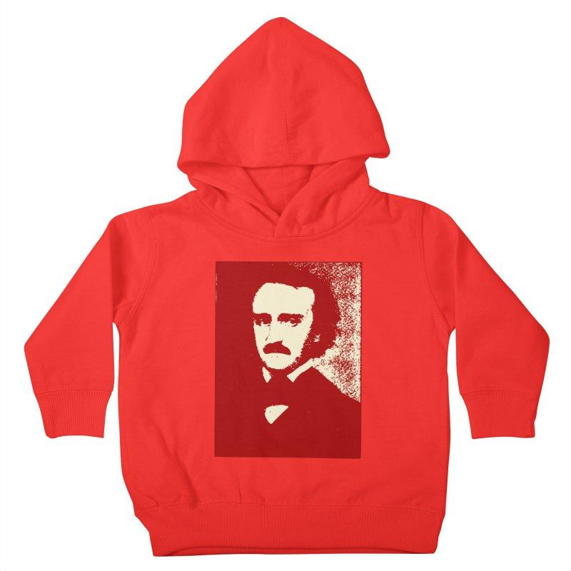 Poe is Poetry Kids Toddler Pullover Hoody by navjinderism's Artist Shop