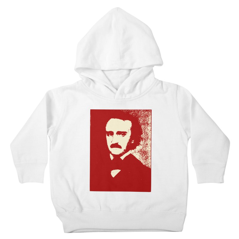 Poe is Poetry Kids Toddler Pullover Hoody by navjinderism's Artist Shop