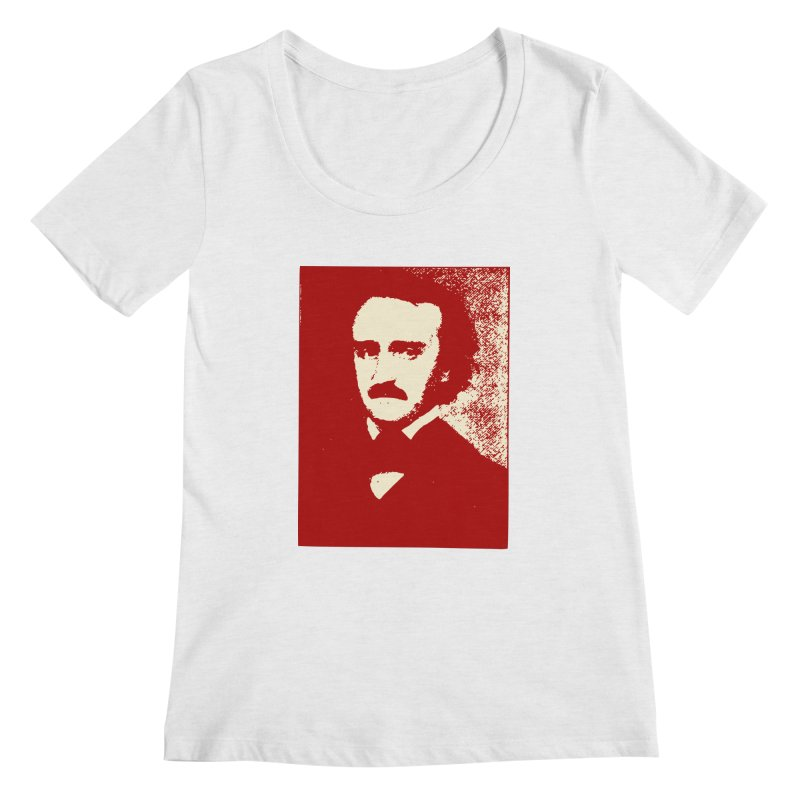 Poe is Poetry Women's Regular Scoop Neck by navjinderism's Artist Shop