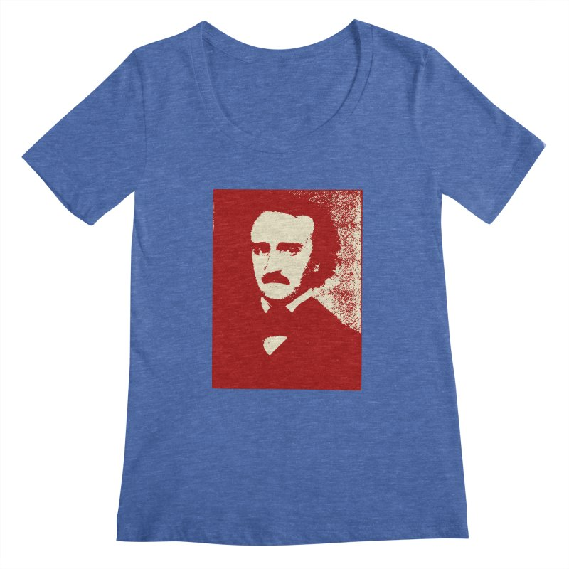 Poe is Poetry Women's Regular Scoop Neck by navjinderism's Artist Shop