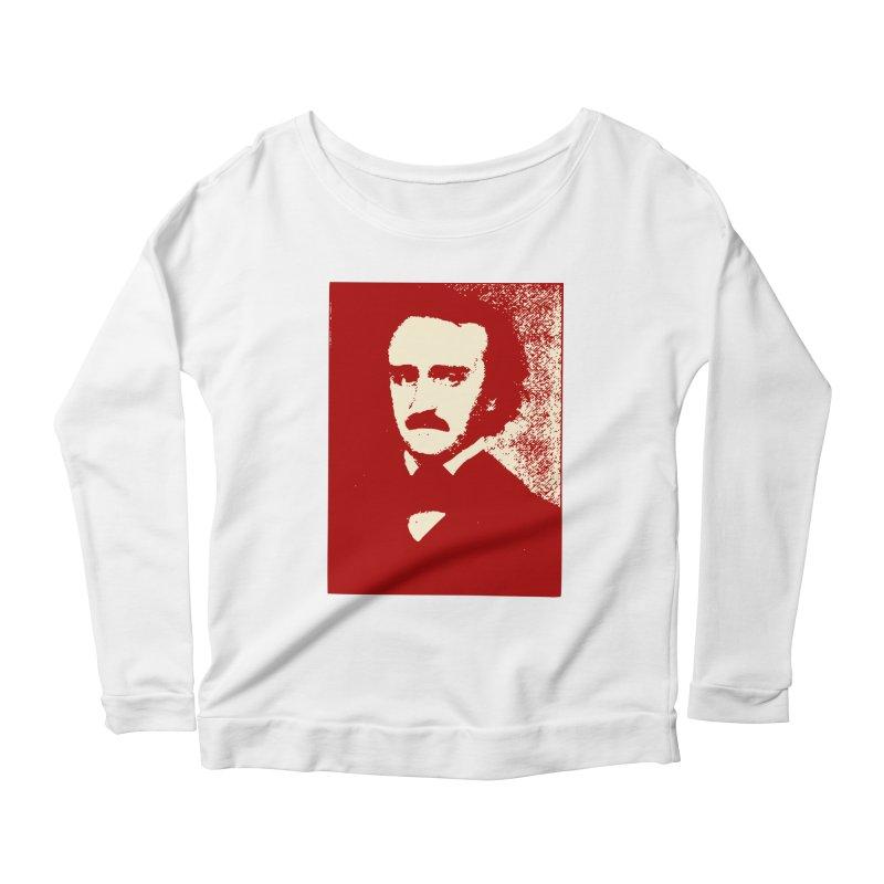 Poe is Poetry Women's Scoop Neck Longsleeve T-Shirt by navjinderism's Artist Shop