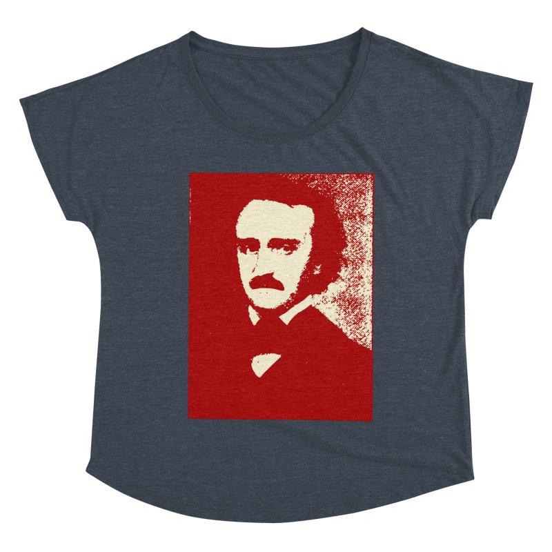 Poe is Poetry Women's Dolman Scoop Neck by navjinderism's Artist Shop