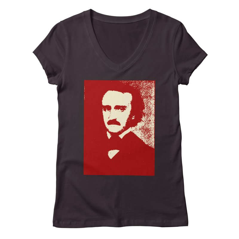 Poe is Poetry Women's Regular V-Neck by navjinderism's Artist Shop