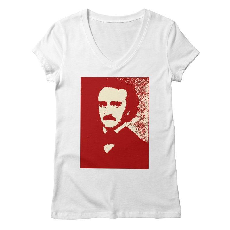 Poe is Poetry Women's V-Neck by navjinderism's Artist Shop