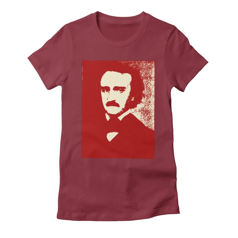 Poe is Poetry Women's Fitted T-Shirt by navjinderism's Artist Shop