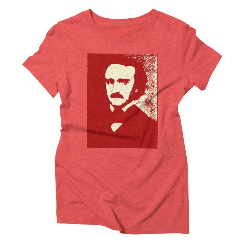 Poe is Poetry Women's Triblend T-Shirt by navjinderism's Artist Shop