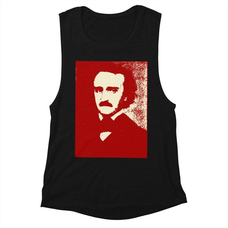 Poe is Poetry Women's Muscle Tank by navjinderism's Artist Shop