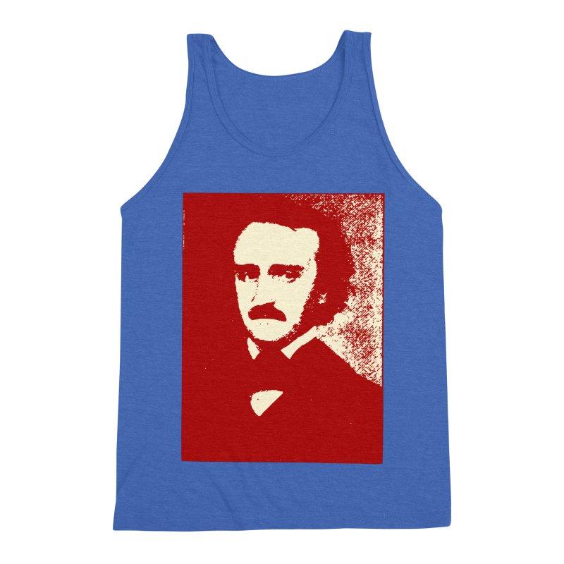 Poe is Poetry Men's Triblend Tank by navjinderism's Artist Shop