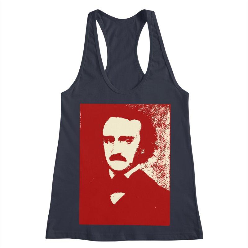 Poe is Poetry Women's Racerback Tank by navjinderism's Artist Shop