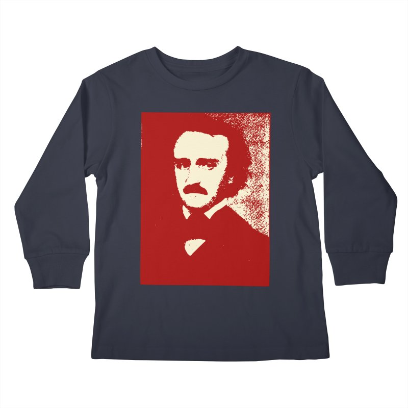 Poe is Poetry Kids Longsleeve T-Shirt by navjinderism's Artist Shop