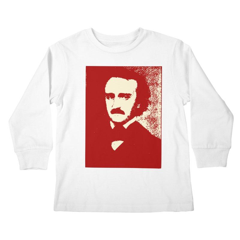 Poe is Poetry Kids Longsleeve T-Shirt by navjinderism's Artist Shop