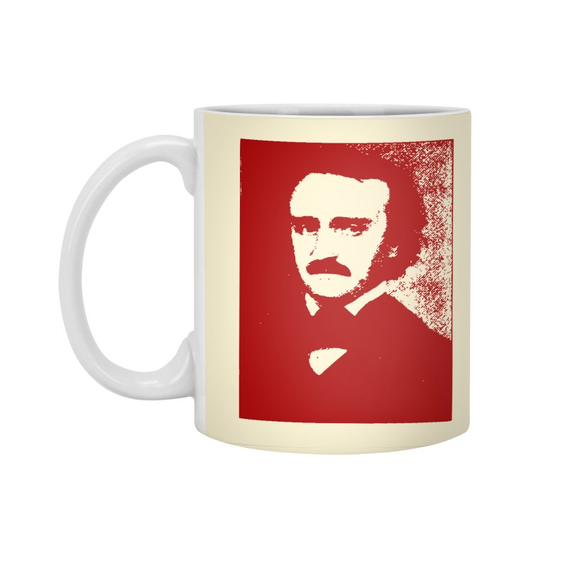 Poe is Poetry Accessories Standard Mug by navjinderism's Artist Shop