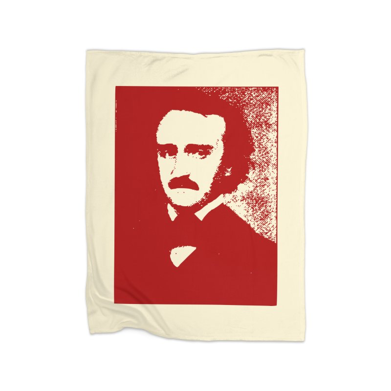 Poe is Poetry Home Fleece Blanket Blanket by navjinderism's Artist Shop