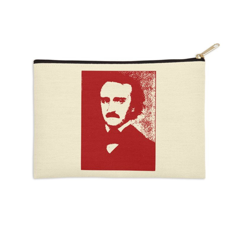 Poe is Poetry Accessories Zip Pouch by navjinderism's Artist Shop