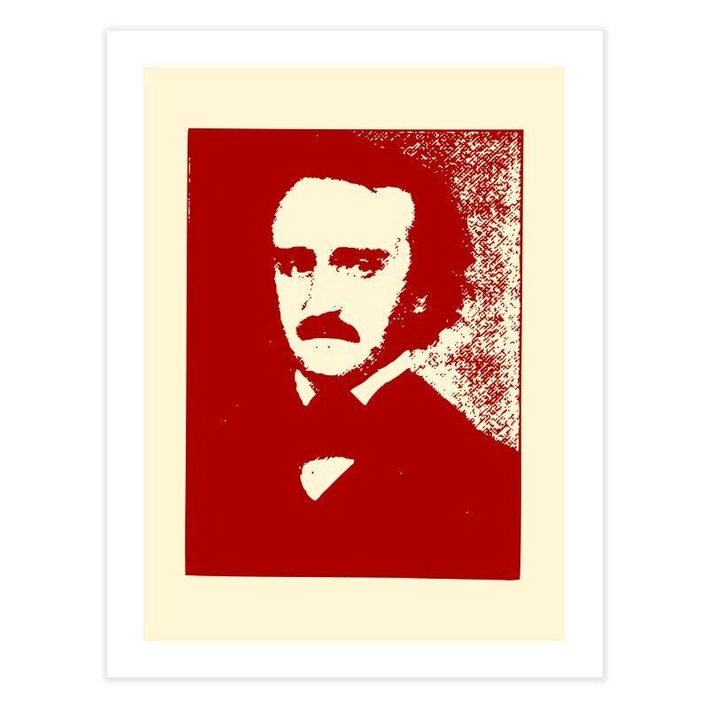 Poe is Poetry Home Fine Art Print by navjinderism's Artist Shop
