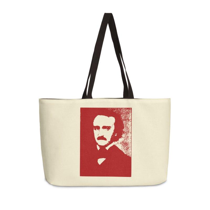 Poe is Poetry Accessories Weekender Bag Bag by navjinderism's Artist Shop