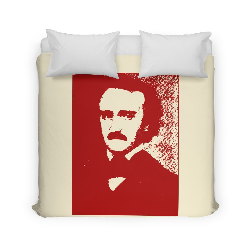 Poe is Poetry Home Duvet by navjinderism's Artist Shop