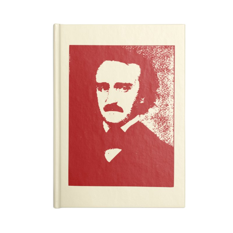 Poe is Poetry Accessories Lined Journal Notebook by navjinderism's Artist Shop