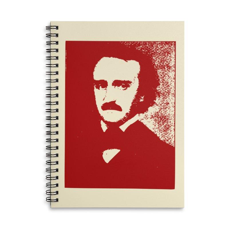 Poe is Poetry Accessories Notebook by navjinderism's Artist Shop