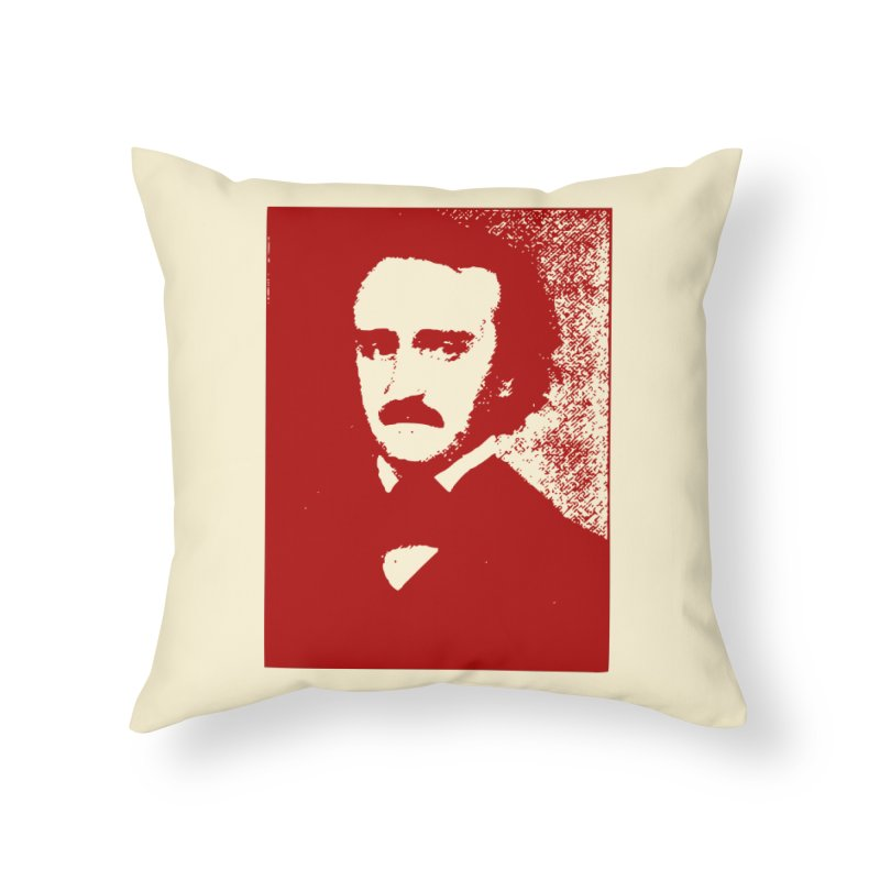 Poe is Poetry Home Throw Pillow by navjinderism's Artist Shop