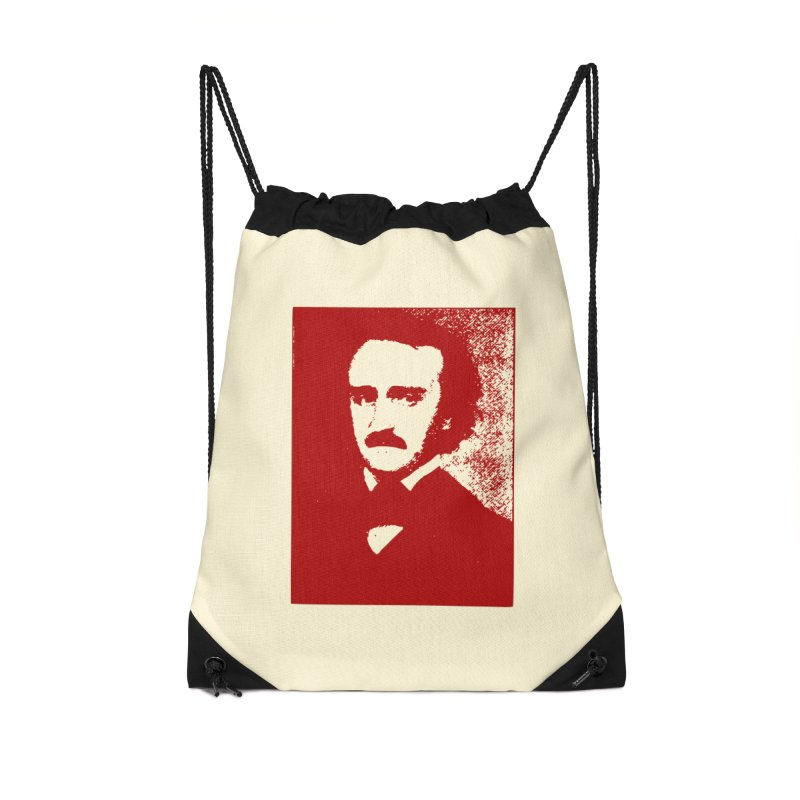 Poe is Poetry Accessories Drawstring Bag Bag by navjinderism's Artist Shop