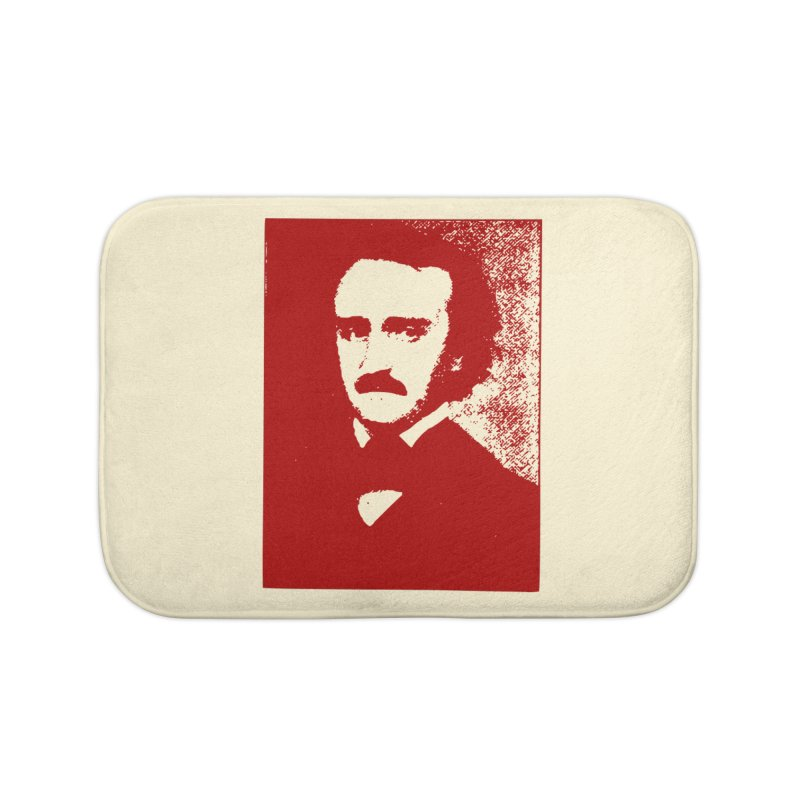 Poe is Poetry Home Bath Mat by navjinderism's Artist Shop