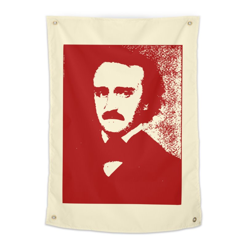 Poe is Poetry Home Tapestry by navjinderism's Artist Shop