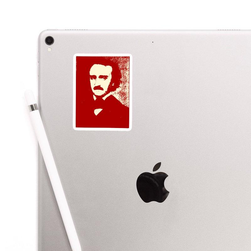 Poe is Poetry Accessories Sticker by navjinderism's Artist Shop