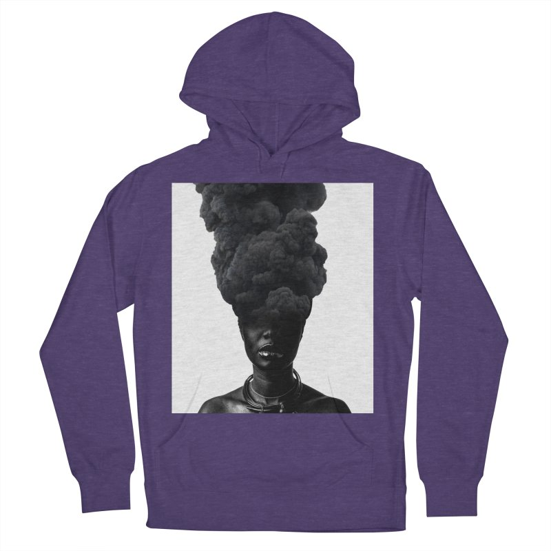 Smoke face Women's Pullover Hoody by nayers's Artist Shop