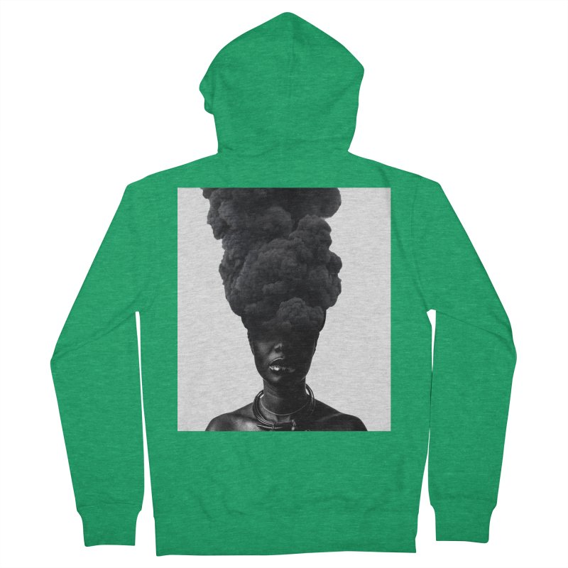Smoke face Women's Zip-Up Hoody by nayers's Artist Shop