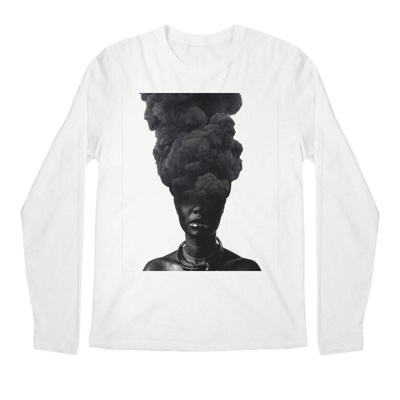 Smoke face Men's Longsleeve T-Shirt by nayers's Artist Shop