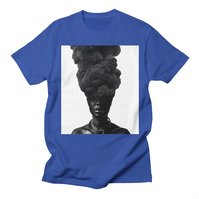 Smoke face Women's Unisex T-Shirt by nayers's Artist Shop