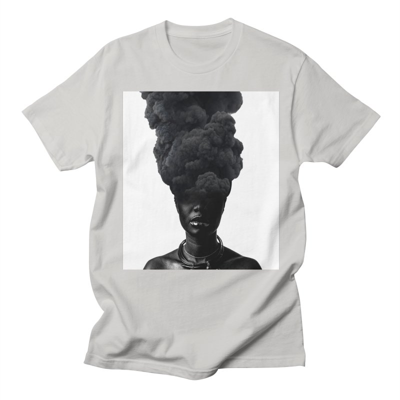 Smoke face Men's T-Shirt by nayers's Artist Shop