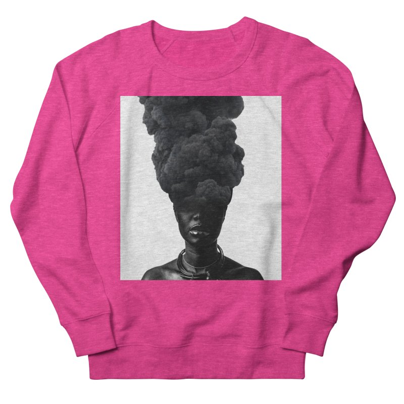 Smoke face Women's Sweatshirt by nayers's Artist Shop