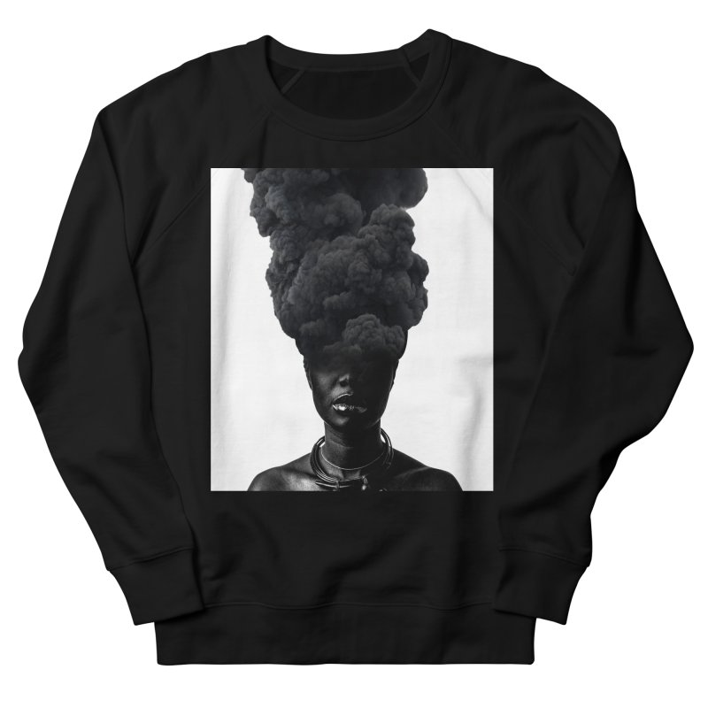 Smoke face Women's Sweatshirt by nayers's Artist Shop