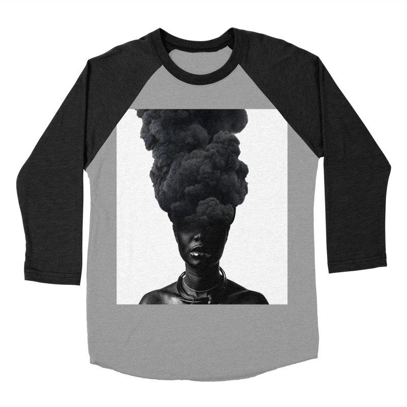 Smoke face Men's Baseball Triblend T-Shirt by nayers's Artist Shop