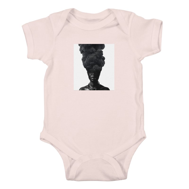 Smoke face Kids Baby Bodysuit by nayers's Artist Shop