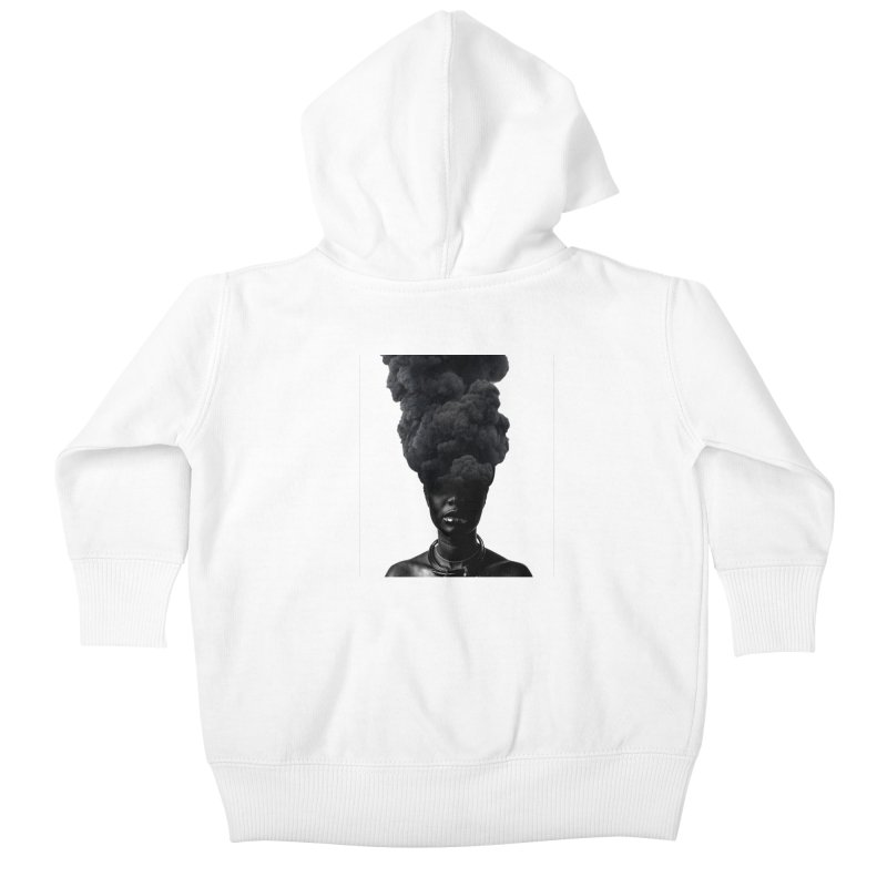 Smoke face Kids Baby Zip-Up Hoody by nayers's Artist Shop