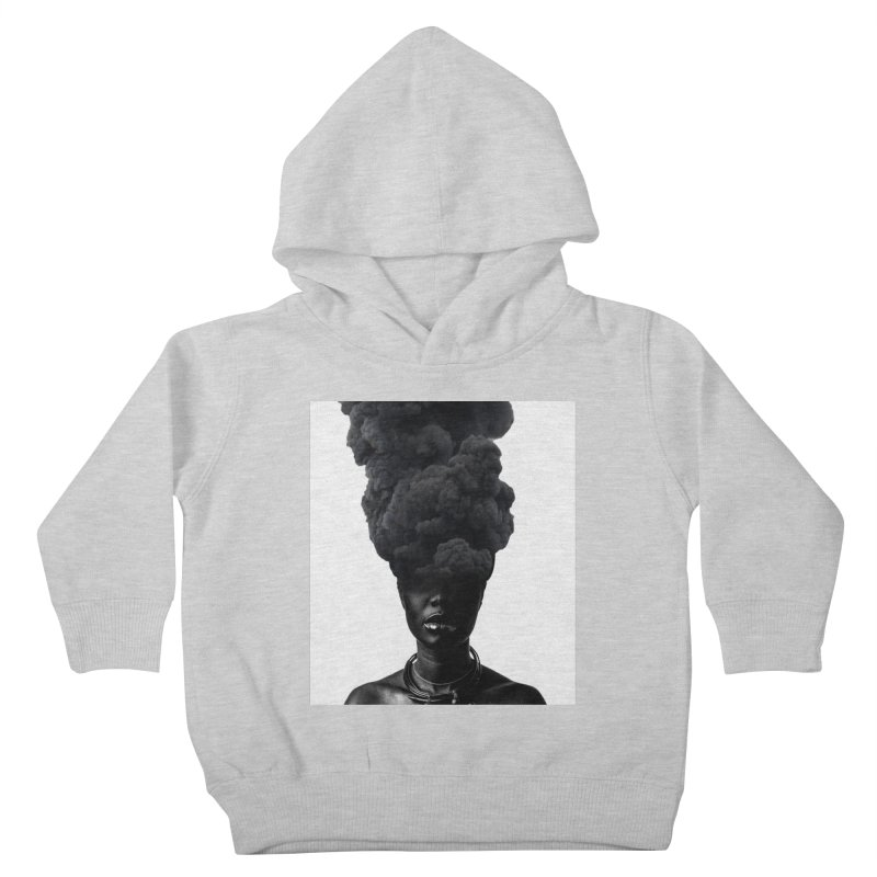 Smoke face Kids Toddler Pullover Hoody by nayers's Artist Shop