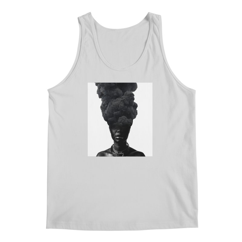 Smoke face Men's Tank by nayers's Artist Shop
