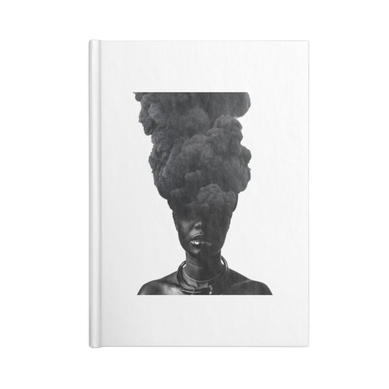 Smoke face Accessories Notebook by nayers's Artist Shop