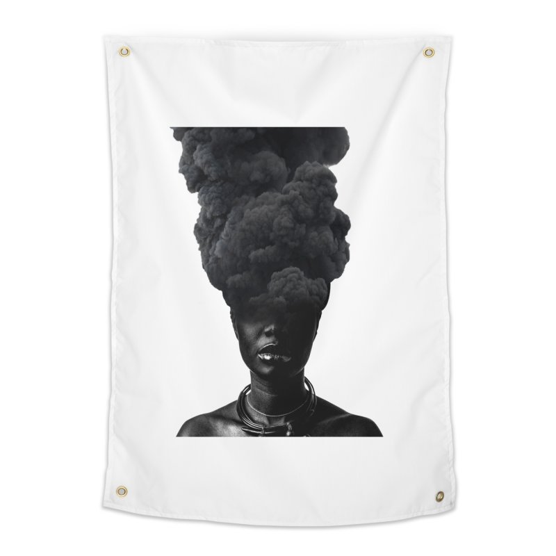 Smoke face Home Tapestry by nayers's Artist Shop