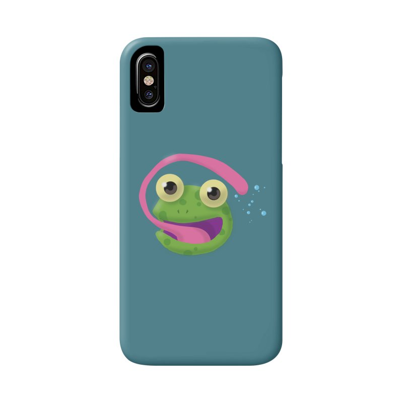Licked Accessories Phone Case by Nathan Burdette's Artist Shop