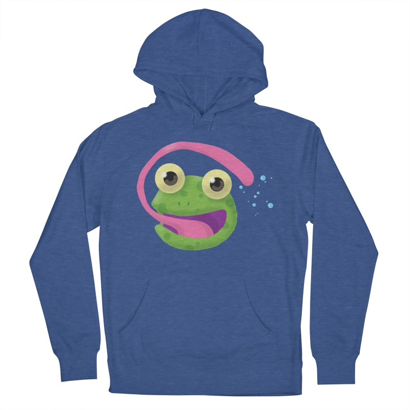 Licked Women's Pullover Hoody by Nathan Burdette's Artist Shop